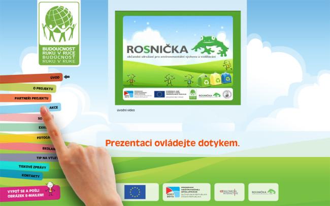 Interaktivní prezentace - Infobox Rosnička 3