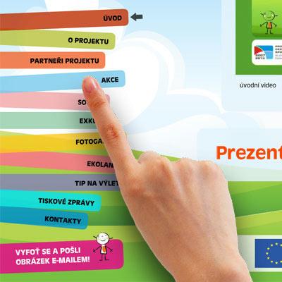 Interaktivní prezentace - Infobox Rosnička 14