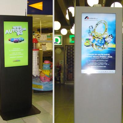 """DKCG - informační kiosky s LCD 42"""" 2"""