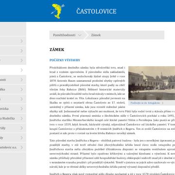 Multimediální kiosek a software pro městys Častolovice 5