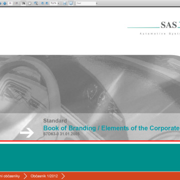 Kiosek a software SAS Automotive 3