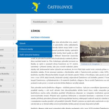 Multimediální kiosek a software pro městys Častolovice 3