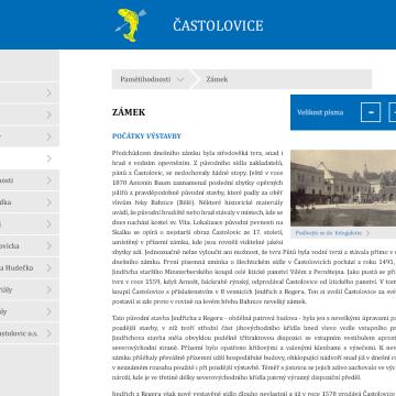 Multimediální kiosek a software pro městys Častolovice 4
