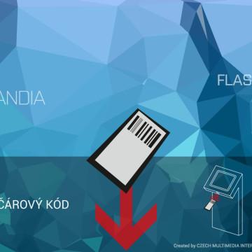 Interaktivní kiosek Arrow pro iQLANDIA Liberec - aplikace