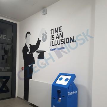 Zeitraum Student Housing - automat MiniCash - samoobslužná recepce pro hotel