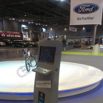 Ford kiosek Profi 22 výstava