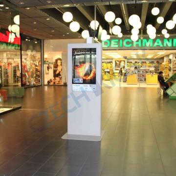 """Portrét kiosek s LCD 42"""" Deichmann"""