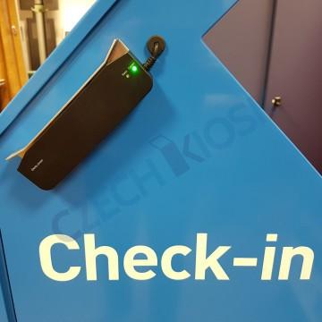 MiniCash - samoobslužná recepce - skener dokladů totožnosti