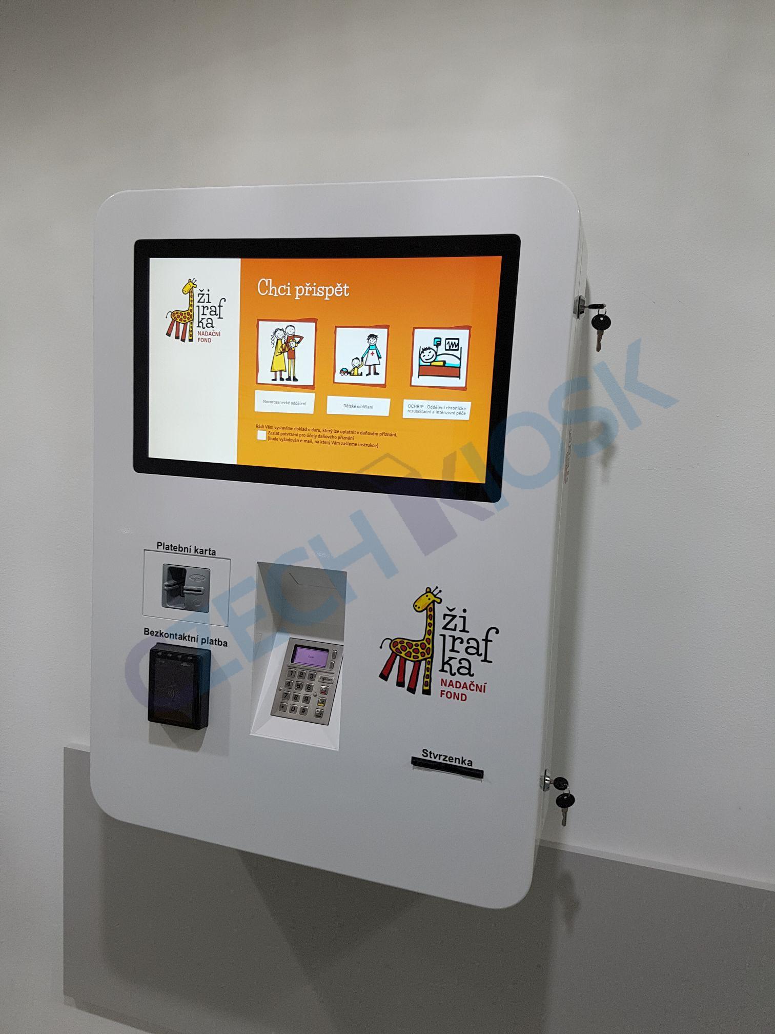 Interactive Kiosk Czech Kiosk