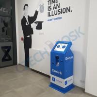 MiniCash - samoobslužná recepce - bezhotovostní platby